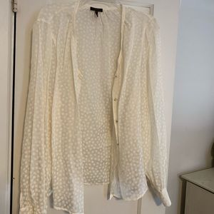 White Escada Blouse